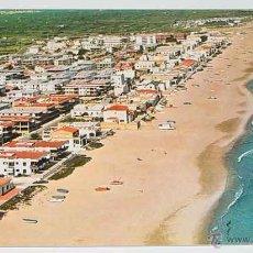 Postales: ANTIGUA FOTO POSTAL DE OLIVA (VALENCIA) . VISTA AEREA DE LA PLAYA - SUBIRATS CASANOVAS - SIN CIRCULA. Lote 39524677