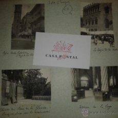 Postales: LOTE DE 44 FOTOGRAFIAS DE VALENCIA 1903, MERCADOS, CALLES, TRANVIAS, CARTELES TOROS, ETC.. Lote 40280833