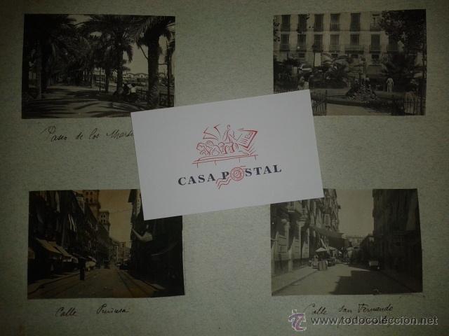 Postales: Lote de 44 fotografias de Valencia 1903, mercados, calles, tranvias, carteles toros, etc. - Foto 3 - 40280833