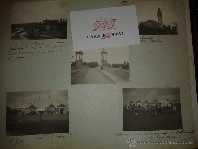 Postales: Lote de 44 fotografias de Valencia 1903, mercados, calles, tranvias, carteles toros, etc. - Foto 5 - 40280833