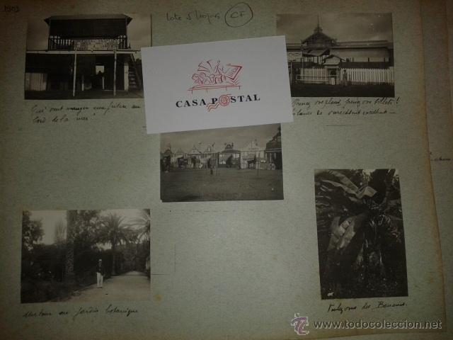 Postales: Lote de 44 fotografias de Valencia 1903, mercados, calles, tranvias, carteles toros, etc. - Foto 8 - 40280833