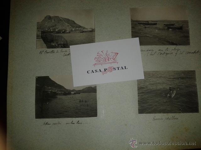 Postales: Lote de 44 fotografias de Valencia 1903, mercados, calles, tranvias, carteles toros, etc. - Foto 10 - 40280833