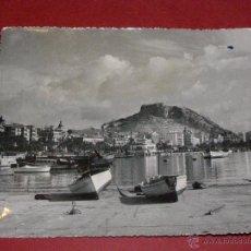 Postales: POSTAL - ALICANTE - Nº 40 - LA CIUDAD DESDE EL PUERTO - FOTO ALFONSO SANCHEZ - MEDIDAS 11,2 X 13,7. Lote 40479116