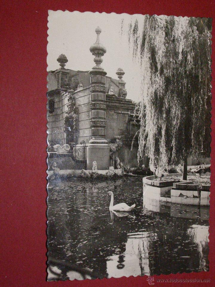 POSTAL 22 - VALENCIA - VIVEROS ESTANQUE - JDP - ESCRITA - (Postales - España - Comunidad Valenciana Moderna (desde 1940))