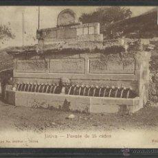 Postales: JATIVA - FUENTE DE 25 CAÑOS - FOTO BARBERA -REVERSO SIN DIVIDIR -(18421). Lote 40572332