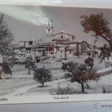 Postales: POSTAL DE LA FONT DE LA FIGUERA. VALENCIA. VISTA PARCIAL. AÑOS 60.. Lote 40780157
