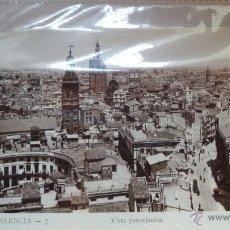 Postales: POSTAL DE VALENCIA. VISTA PANORAMICA. AÑOS 60. Lote 40780252