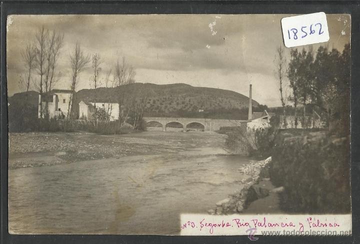 SEGORBE - RIO PALANCIA - (18562) (Postales - España - Comunidad Valenciana Antigua (hasta 1939))