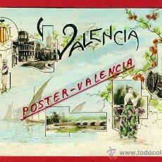 Postales: POSTAL, VALENCIA, VISTAS VALENCIA, GRUSS, P91148. Lote 40875754