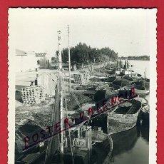 Postales: POSTAL, CULLERA, VALENCIA, VISTA PARCIAL BARCAS, FOTO, FOTOGRAFICA, P91256. Lote 40907156