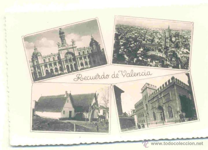 RECUERDO VALENCIA - SIN CIRCULAR (Postales - España - Comunidad Valenciana Moderna (desde 1940))