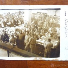 Postales: POSTAL FOTOGRAFICA . CENTRAL CORREOS . VALENCIA 1922 HUELGA DE CORREOS . CARTEROS . DIFÍCIL . FOTO. Lote 40940418
