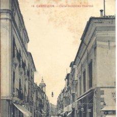 Postales: PS0472 CASTELLÓN 'CALLE DE GONZÁLEZ CHERMÁ'. ANDRÉS FABERT. CIRCULADA EN 1914. Lote 40964323