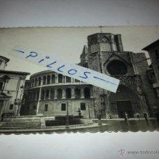Postales: POSTAL DE VALENCIA CON SELLO Y MATASELLOS DEL AÑO 1950. Lote 41077055