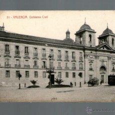 Postales: VALENCIA GOBIERNO CIVIL - EDICIÓN THOMAS - POSTAL - POSTAL. Lote 41154912