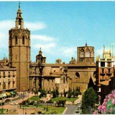 Postales: VALENCIA.- MIGUELETE Y CATEDRAL.. Lote 41327941