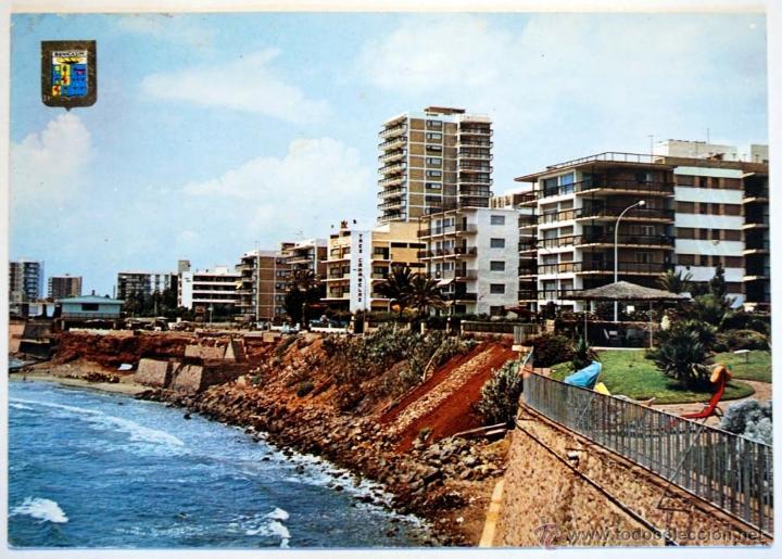 CASTELLON. BENICASIM. LAS VILLAS VISTA PARCIAL. (Postales - España - Comunidad Valenciana Moderna (desde 1940))