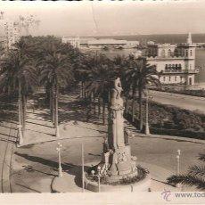 Postales: POSTAL FOTOGRAFICA ALICANTE MONUMENTO A CANALEJAS EDICIONES ARRIBAS NUM 194. Lote 41453159