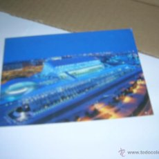 Postales: TARJETA POSTAL CIUDAD DE LAS ARTES Y LAS CIENCIAS DE VALENCIA. VISTA NOCTURNA. CACSA, AÑO 2004.. Lote 41621521