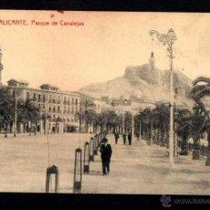 Postales: ALICANTE. PARQUE DE CANALEJAS. NO CIRCULADA. THOMAS. Lote 41687852