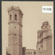 Postales: CASTELLON - IGLESIA DE SANTA MARIA - (19478). Lote 72809078