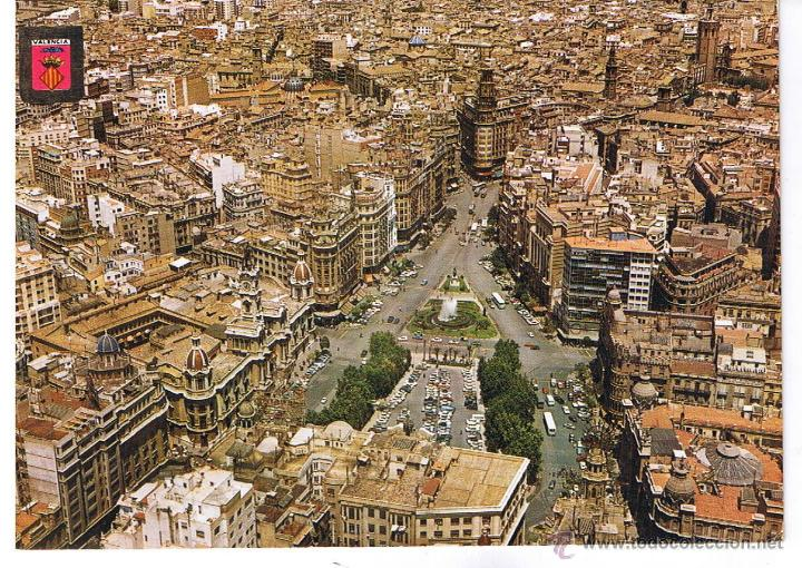 POSTAL: VALENCIA. PLAZA DEL CAUDILLO (Postales - España - Comunidad Valenciana Antigua (hasta 1939))