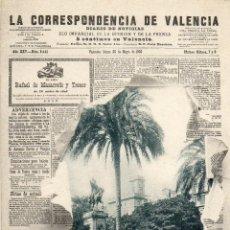 Postales: POSTAL ANTIGUA-LACORRESPONDENCIA DE VALENCIA-HAUSER Y MENET. Lote 42253583