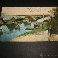 Postales: VALENCIA LAGO DE LA ALBUFERA. Lote 42502995