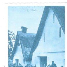 Postales: POSTAL REPRODUCCION DE L`ARXIU J. HUGUET VALENCIA COSTUMBRES VALENCIANAS EL VIATICO. Lote 42558775