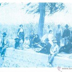 Postales: POSTAL REPRODUCCION DE L`ARXIU J. HUGUET EN EL CAMPO. Lote 42558957