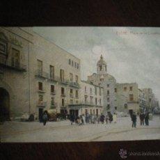 Postales: PLAZA DE LA CONSTITUCIÓN-ELCHE. Lote 42584849