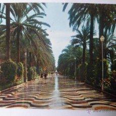 Postales: ALICANTE. EXPLANADA DE ESPAÑA. POSTAL CIRCULADA. Lote 42586229