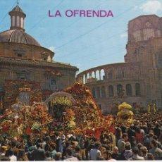 Postales: VALENCIA SERIE 19 Nº 709 PLAZA DE LA VIRGEN EN EL DÍA DE LA OFRENDA (SIN CIRCULAR). Lote 43110093