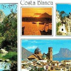 Postales: POSTAL, COSTA BLANCA, BENIDORM. Lote 43249363