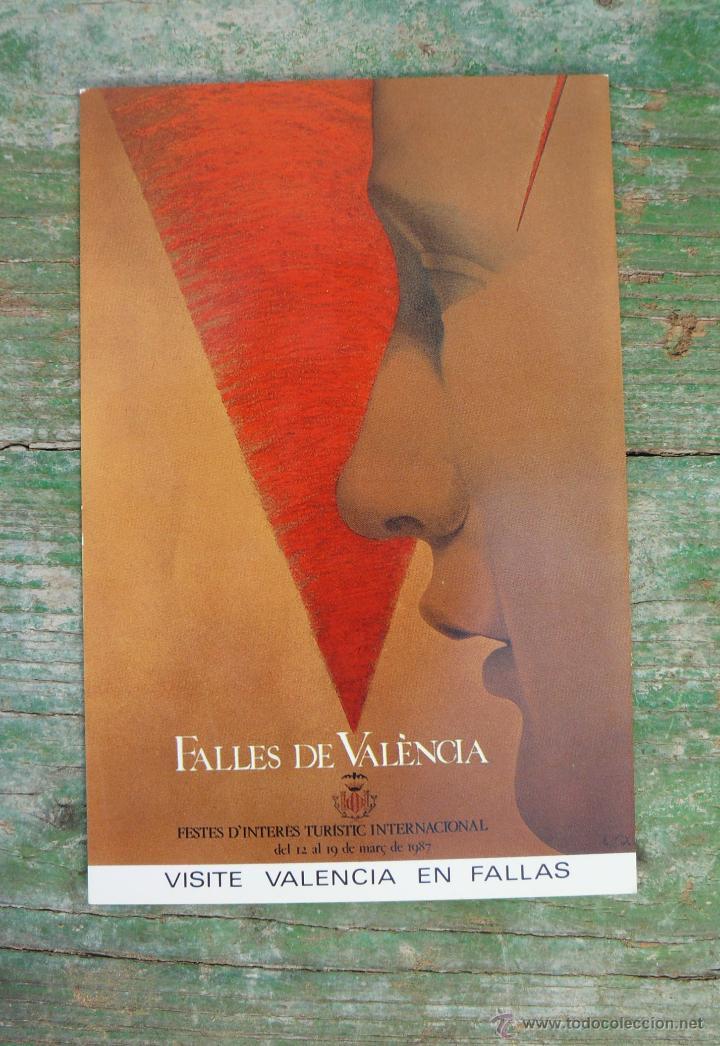 RESERVADO ABD SIN CIRCULAR FALLAS DE VALENCIA 1987 (Postales - España - Comunidad Valenciana Moderna (desde 1940))