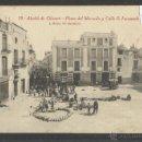 Postales: ALCALA DE CHIVERT - 19 - PLAZA DEL MERCADO Y CALLE S.FERNANDO - ROISIN - (22524). Lote 43407403