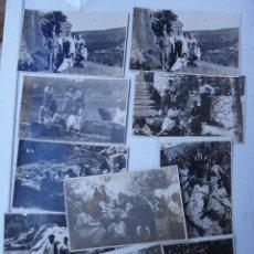 Postales: LOTE 11 POSTALES DE BUÑOL , VALENCIA, FOTOGRAFICAS, AGOSTO 1922 LUGARES Y FUENTES, ORIGINALES. Lote 43599304