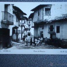 Postales: MORELLA PLAZA DEL ROSARIO POSTAL ANTIGUA . Lote 43624622