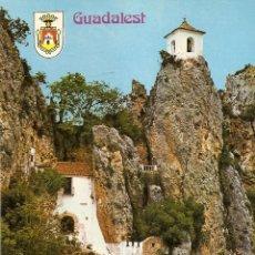POSTAL , CASTELL DE GUADALEST, ALICANTE, SIN CIRCULAR