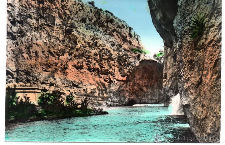 CHULILLA .- CHARCO AZUL Nº 5 .- FOTO LUIS RIERA .- EDICION JDP (Postales - España - Comunidad Valenciana Moderna (desde 1940))