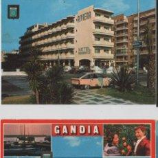 Postales: POSTALES-LOTE DE 5 TARJETAS DE GANDIA. Lote 44210881