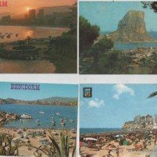 Postales: POSTALES-LOTE DE 18 TARJETAS DE BENIDORM. Lote 44218899