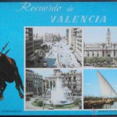 Postales: (19168)POSTAL SIN CIRCULAR,RECUERDO DE VALENCIA,LUIS MIGUEL DOMINGUIN,VALENCIA,VALENCIA,COMUNIDAD VA. Lote 44270805