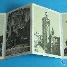 Postales: CARPETA CON 12 POSTALES RECUERDO DE VALENCIA. FORMATO 7,5 X 10,5. Lote 44458418