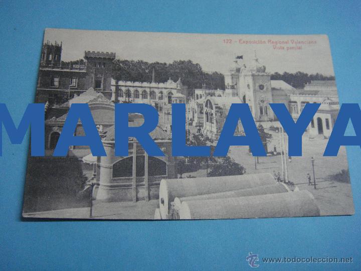 POSTAL SIN CIRCULAR. EXPOSICIÓN REGIONAL VALENCIA. FERIA. EXPO. 1909 (Postales - España - Comunidad Valenciana Antigua (hasta 1939))