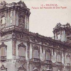 Postales: VALENCIA. PALACIO DEL MARQUÉS DE DOS AGUAS. Nº 10.. Lote 44879037