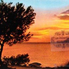Postales: POSTAL - ALICANTE - PUESTA DE SOL - NO CIRCULADA. Lote 44880876