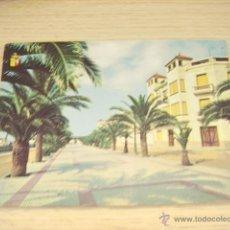 Postales: VINAROZ (CASTELLON) PASEO DEL GENERALISIMO. Lote 44908048