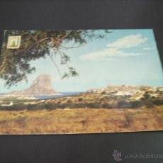 Postales: CALPE (ALICANTE) VISTA PARCIAL Y PEÑON DE IFACH. Lote 44947888