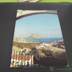 Postales: CALPE (ALICANTE) VISTA PARCIAL Y PEÑON DE IFACH. Lote 44948208